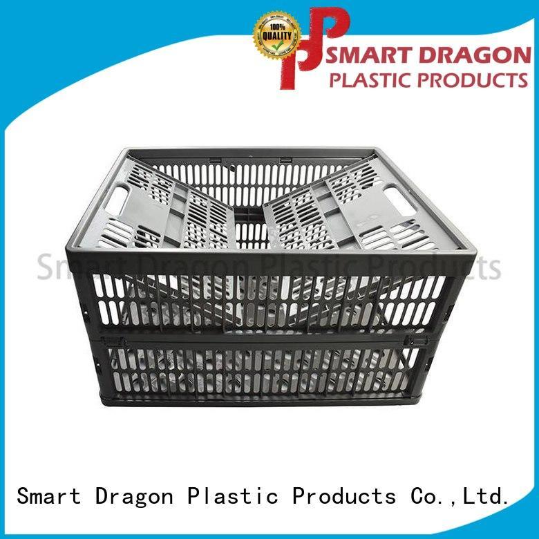 SMART DRAGON plastic large crate ventilate for car
