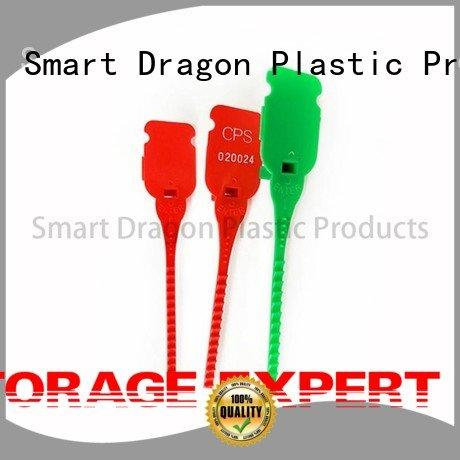 SMART DRAGON plastic bag security seal selflocking tie seal printed