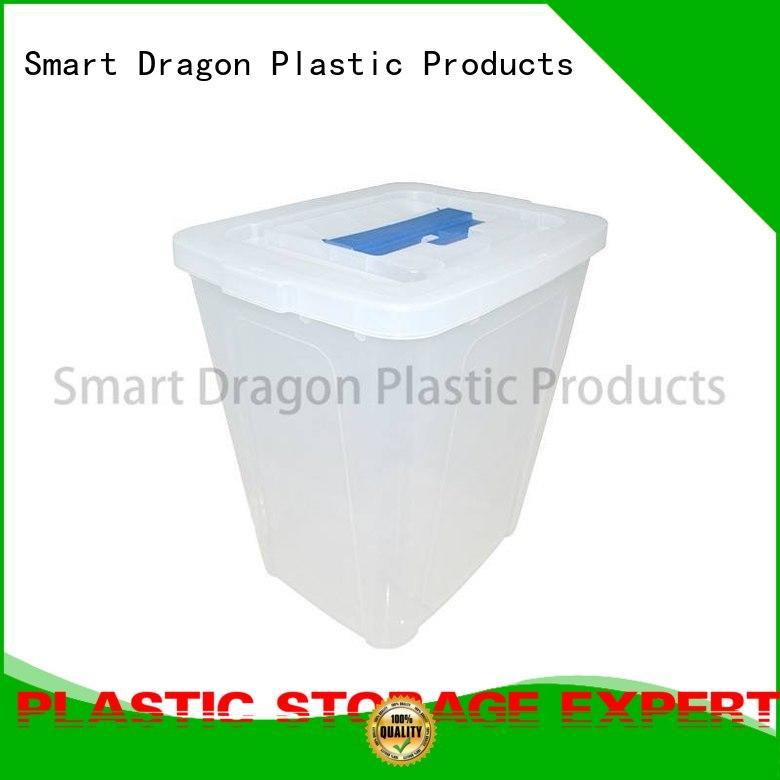SMART DRAGON Brand tags transparent cover ballot box company