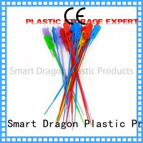 Custom one plastic bag security seal temper SMART DRAGON