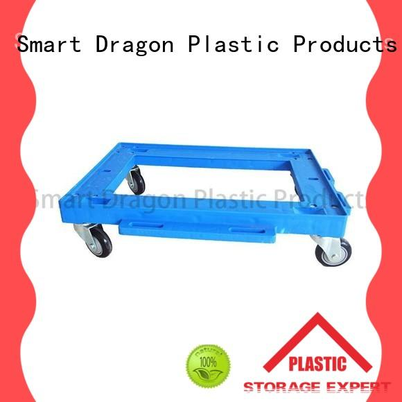 SMART DRAGON wheeled folding hand truck cart for deck