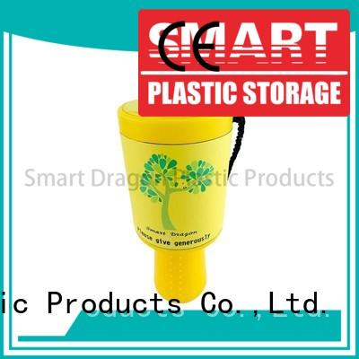 durable charity collection buckets free delivery for donation SMART DRAGON
