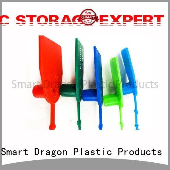 tight red box SMART DRAGON plastic bag security seal