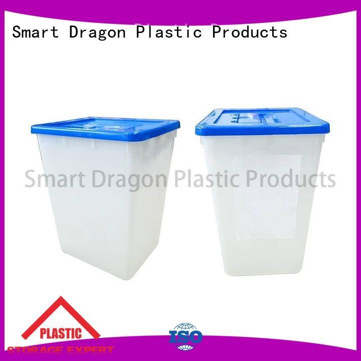 SMART DRAGON plastics clear ballot box folding for election
