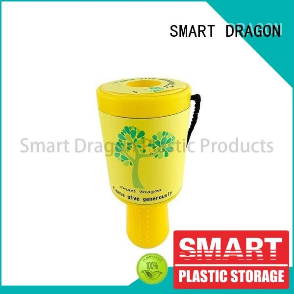 SMART DRAGON Brand pink black donation custom charity collection boxes
