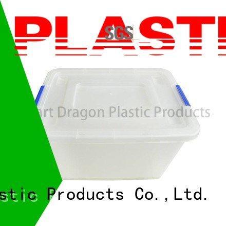 polypropylene 65 semi large SMART DRAGON plastic storage boxes