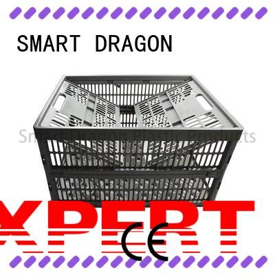 SMART DRAGON heavy-duty small crate perforated for chain shop