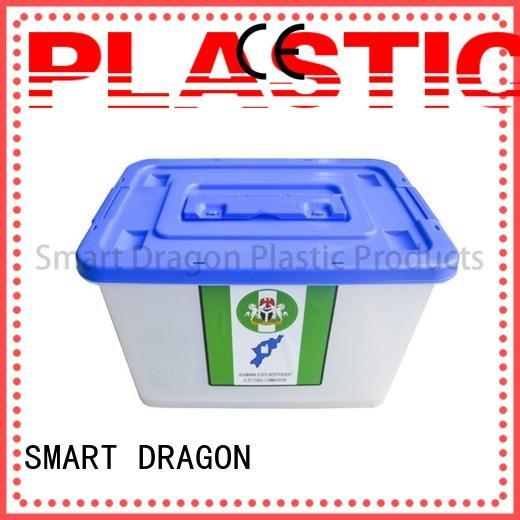 SMART DRAGON Brand large 40l45l ballot box company colored supplier