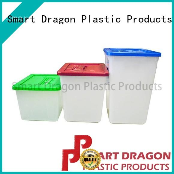 SMART DRAGON transparency clear ballot box with lock custom-made for election