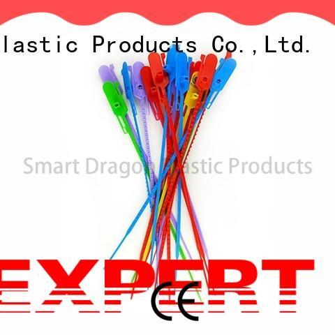 SMART DRAGON adjustable plastic tamper seals pp material for packing