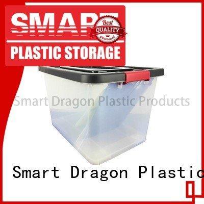 SMART DRAGON bins 100 plastic storage boxes polypropylene 65