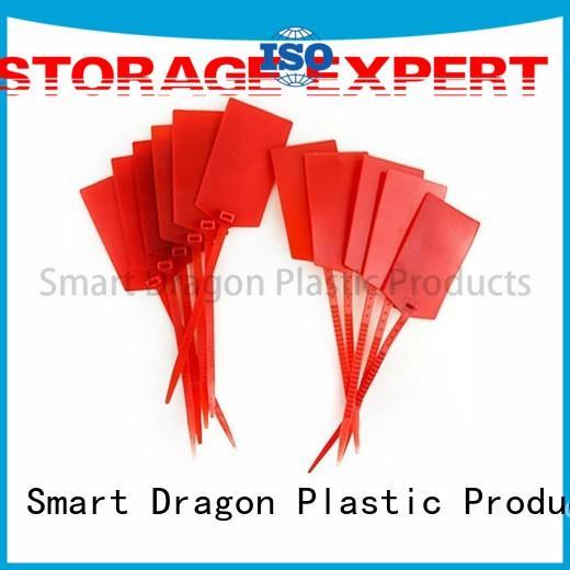 SMART DRAGON logo plastic lock seal for voting box