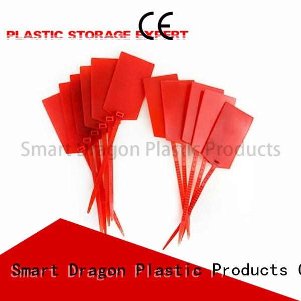 red plastic bag security seal seal SMART DRAGON company
