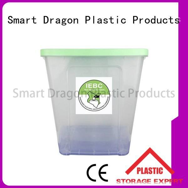 SMART DRAGON plastics suggestion box blue for election