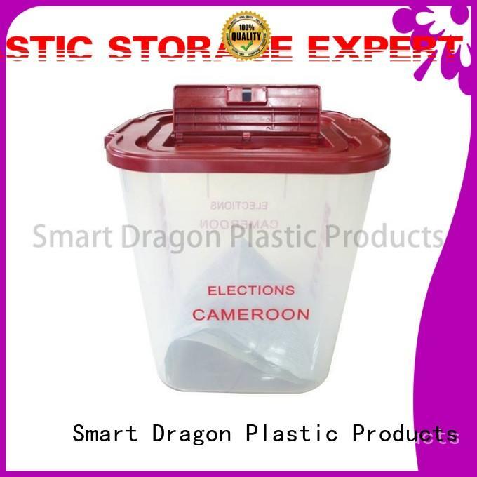 SMART DRAGON Brand large voting ballot box company blue supplier