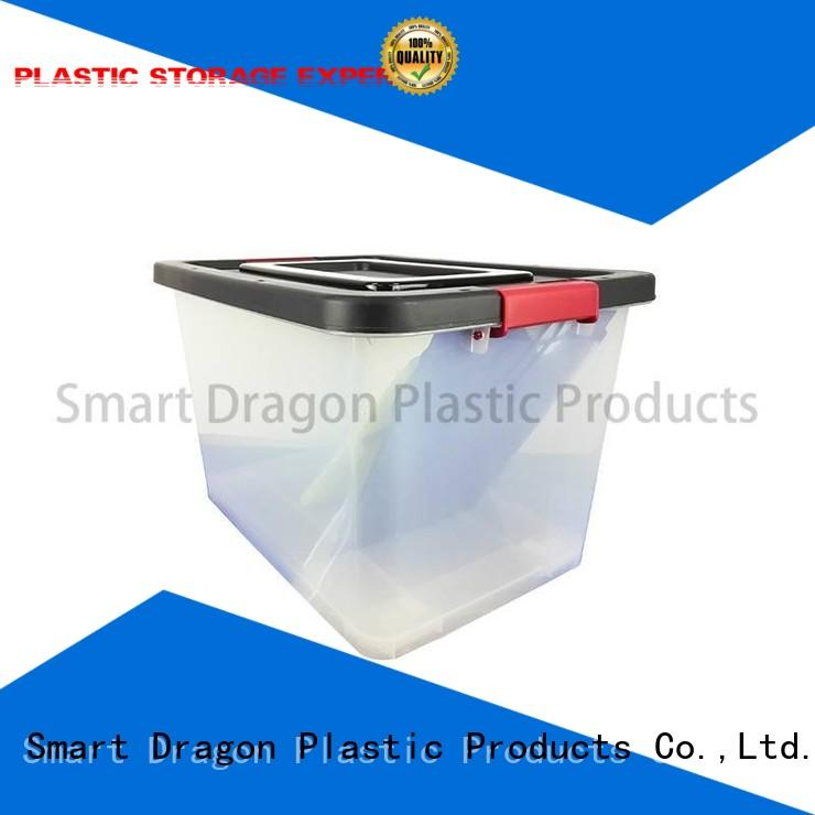 SMART DRAGON transparent plastic storage boxes with drawers free sample for shipping