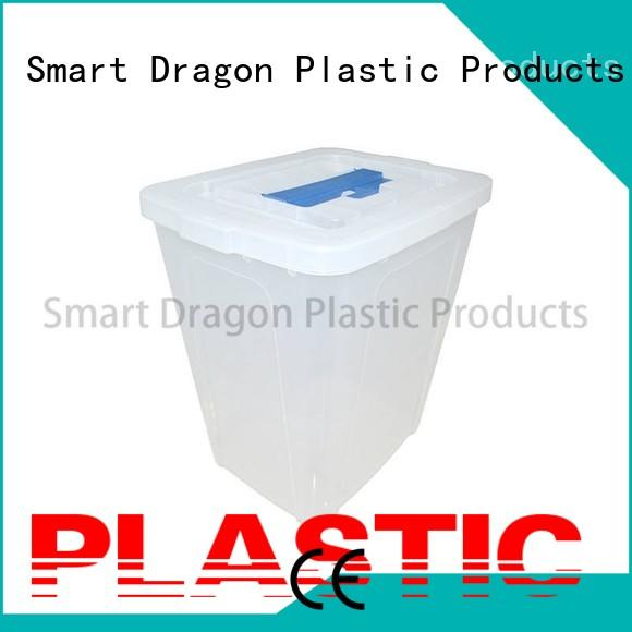 multi-function plastic storage boxes for ballot for election SMART DRAGON