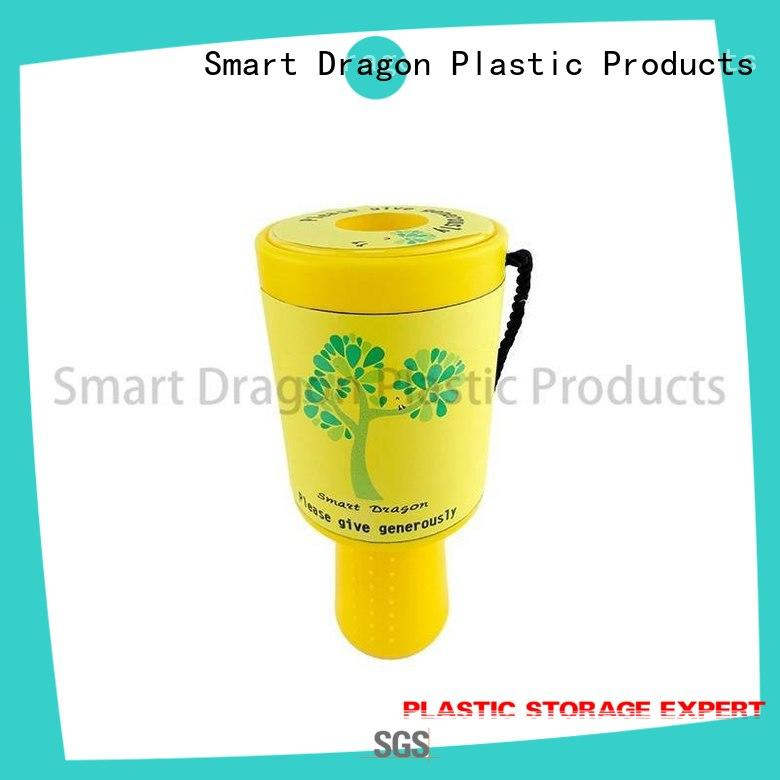 multi-functional charity collection tins black for wholesale
