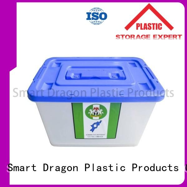 transparent plastic products bottom for election