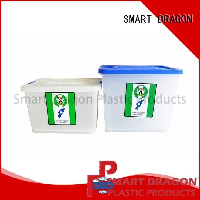 SMART DRAGON floor transparent voting box manufacturers for election