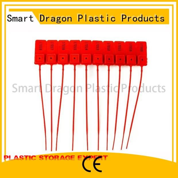 high-quality numbered security seals extinguisher for packing SMART DRAGON