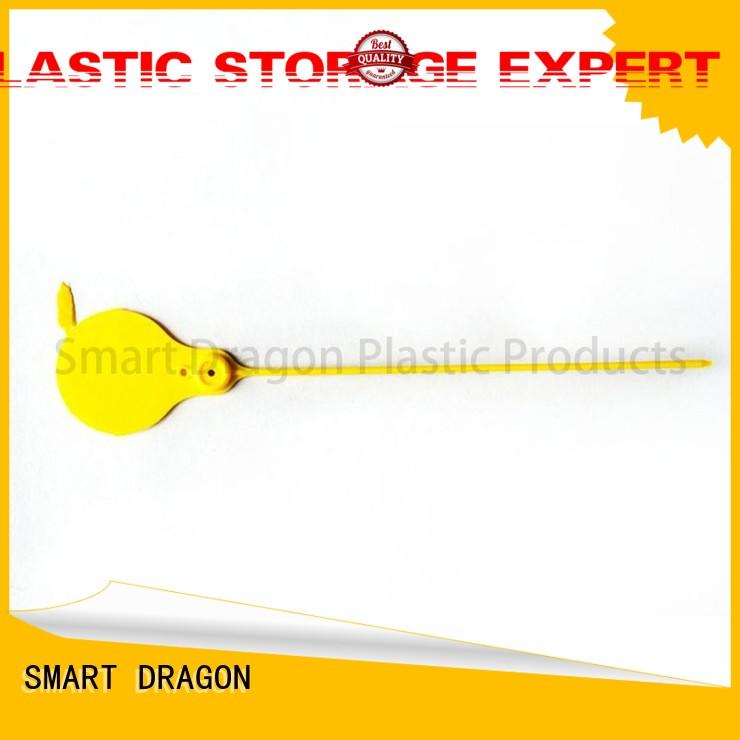 Quality SMART DRAGON Brand logo plastic bag security seal