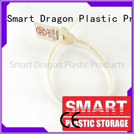SMART DRAGON special processing plastic pull tight seals onetime for ballot box