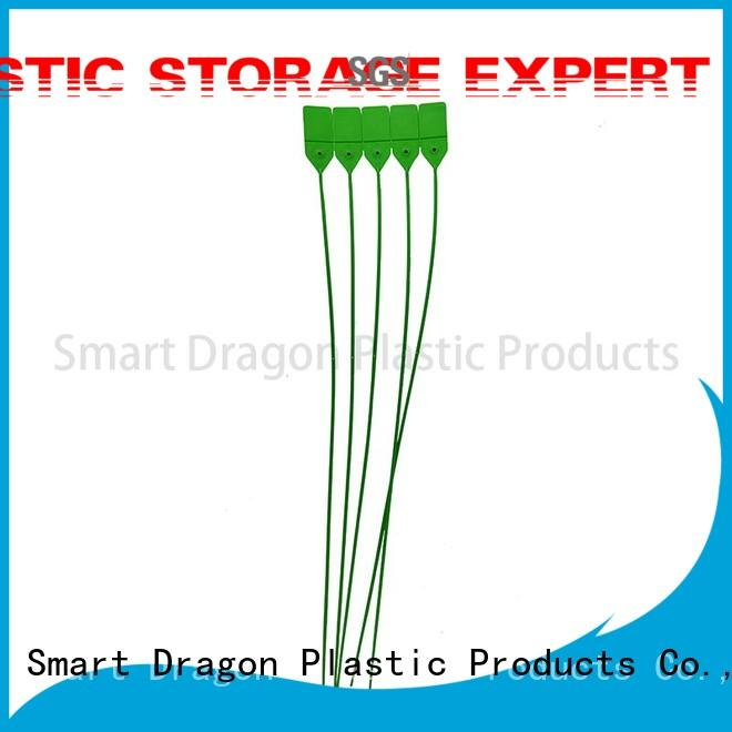 SMART DRAGON tamper proof seal seamless for ballot box