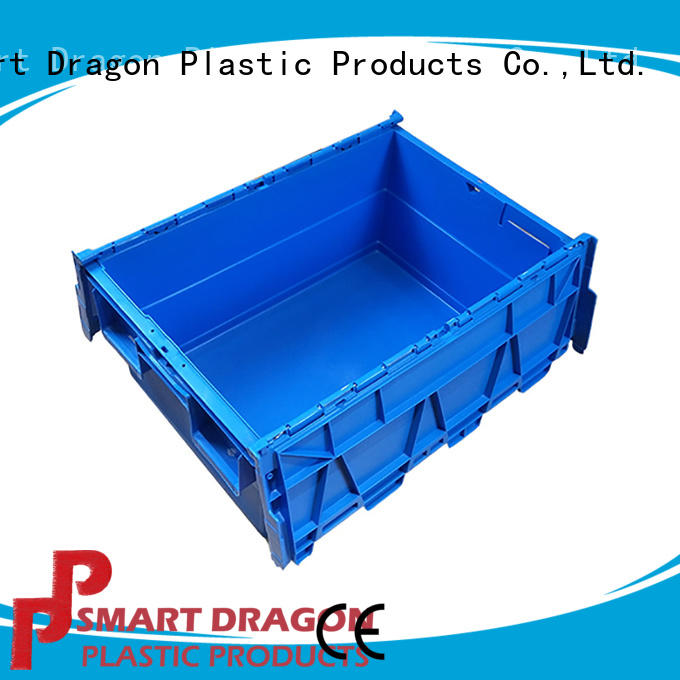 containers pp turnover crate wall for wholesale SMART DRAGON