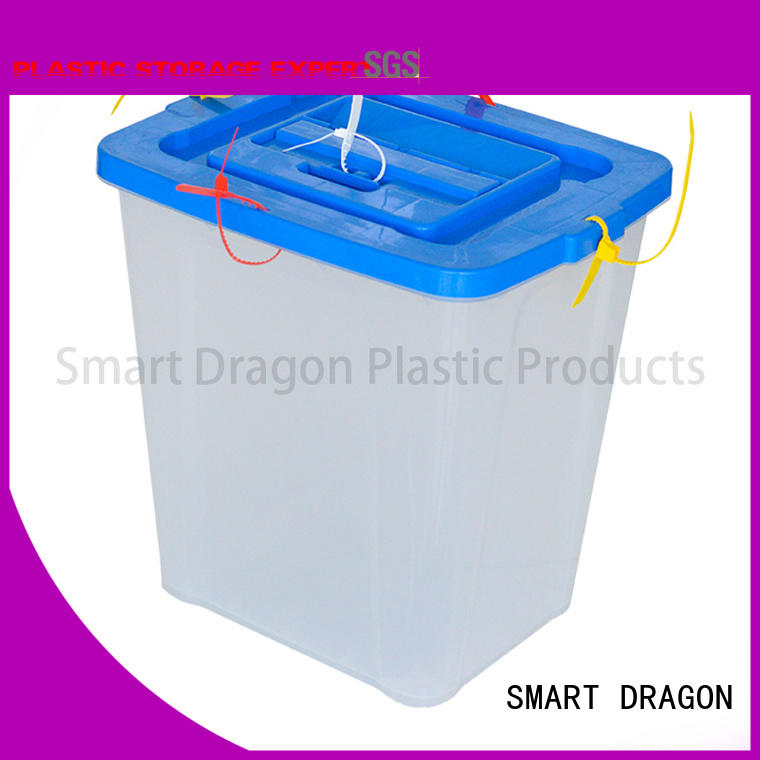 clear newest ballot box company security SMART DRAGON company