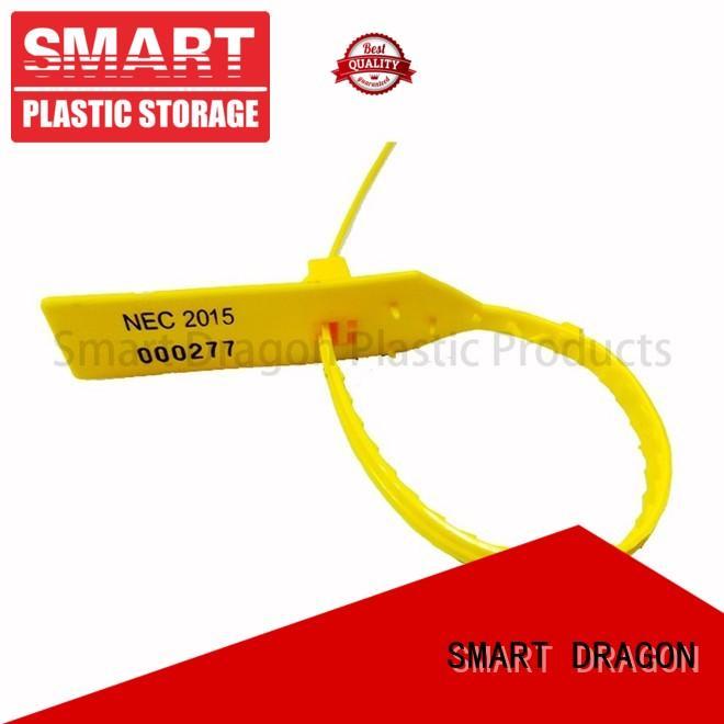 locking tamper resistant seals traffic for packing SMART DRAGON