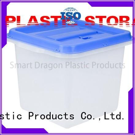 ecofriendly plastic storage bins clear for election SMART DRAGON
