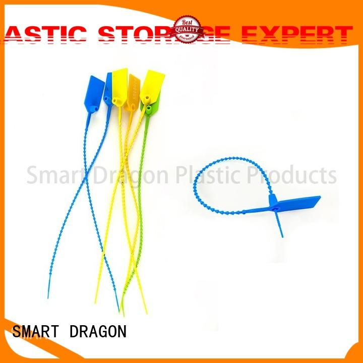 SMART DRAGON Brand time length plastic bag security seal hand factory