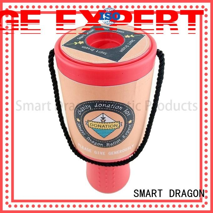 SMART DRAGON Brand boxes charity collection boxes hand supplier