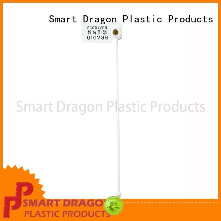 SMART DRAGON logo security tamper seals pp material for ballot box