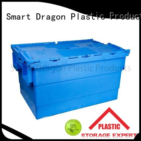 large box containers OEM plastic turnover boxes SMART DRAGON