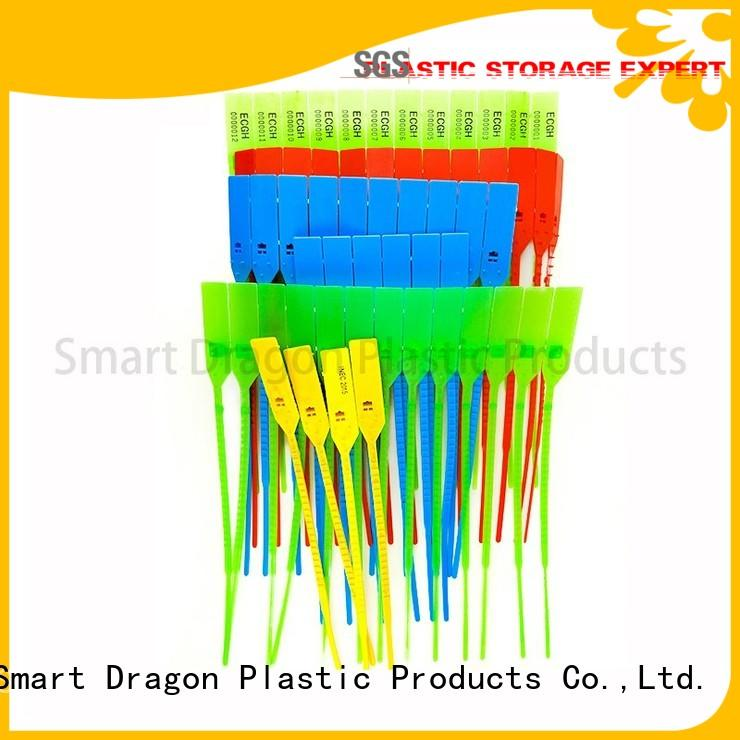 Quality SMART DRAGON Brand high security truck seals 250mm