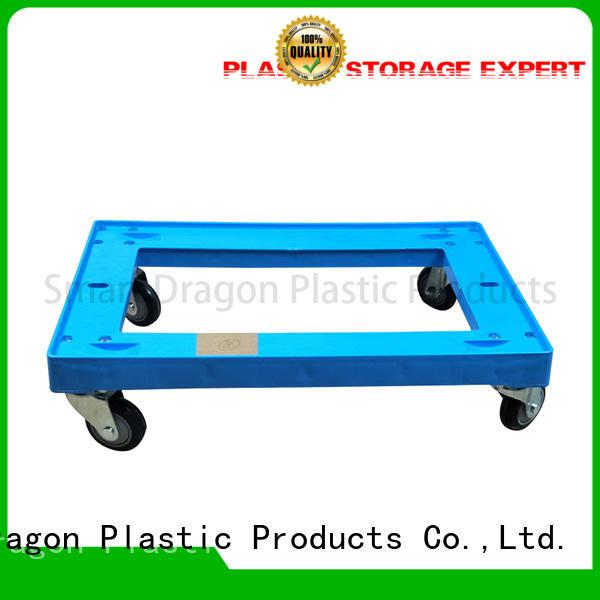 plastic folding hand truck folded for platform SMART DRAGON