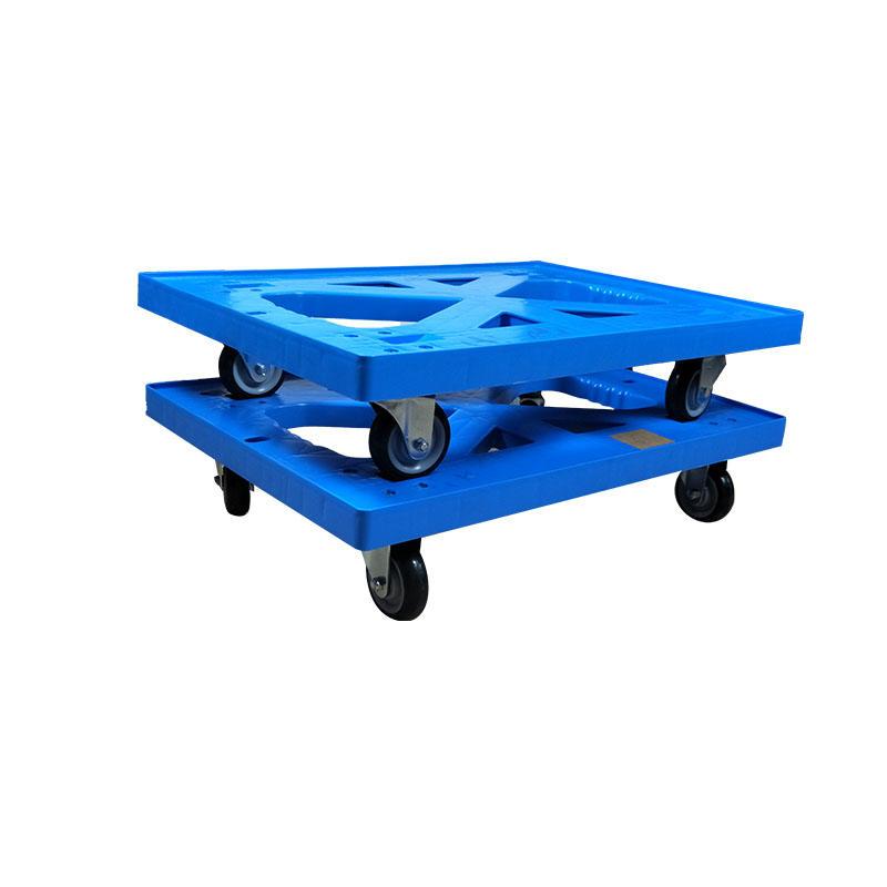 SMART DRAGON-Customize With 4 Wheels Dolly Board Trolley   Plastic Trolleys-1