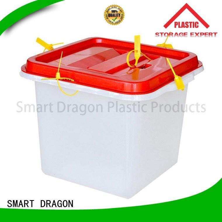 100polypropylene corrugated ballot box direct selling for election SMART DRAGON