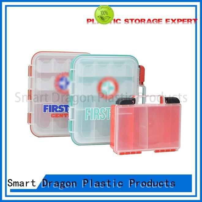 waterproof small medicine box pp material for storage SMART DRAGON