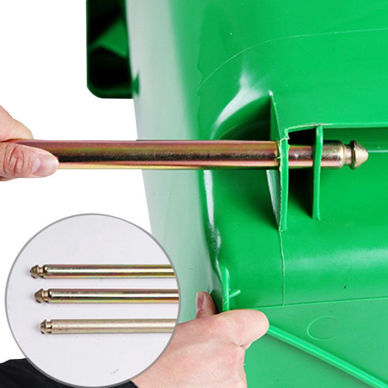 Customized Plastic Trash Can Dust Bin Dustbin Garbage Waste Bin-3