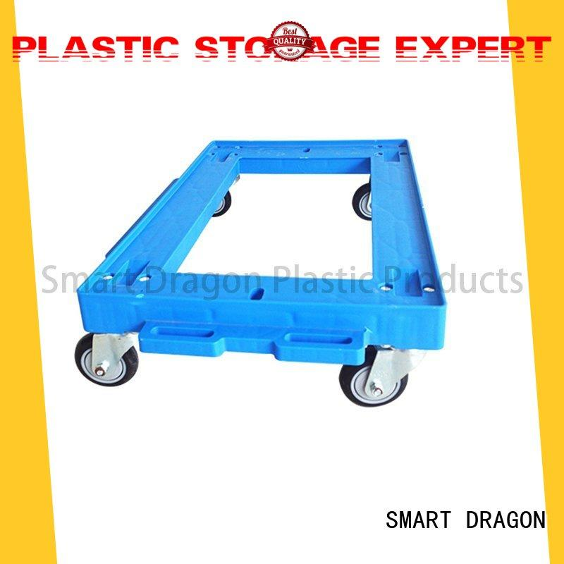 strong carts plastic trolley wheeled for transportation SMART DRAGON