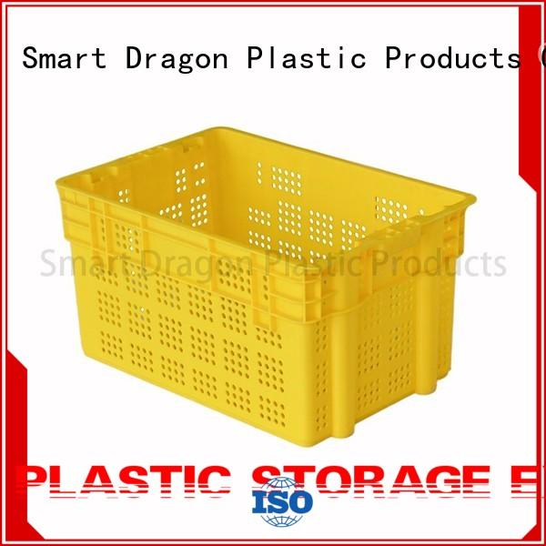 stack turnover plastic turnover boxes large SMART DRAGON
