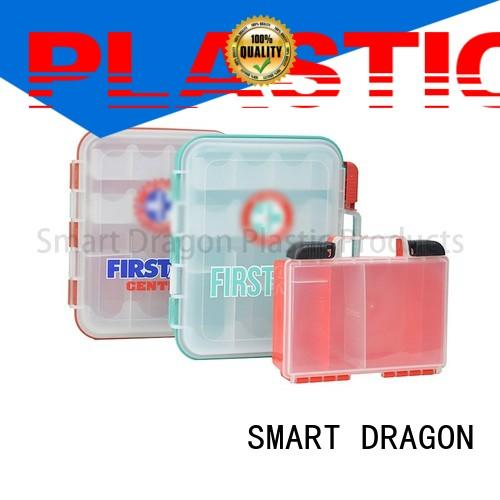 SMART DRAGON Brand aid plastic medicine box pp factory
