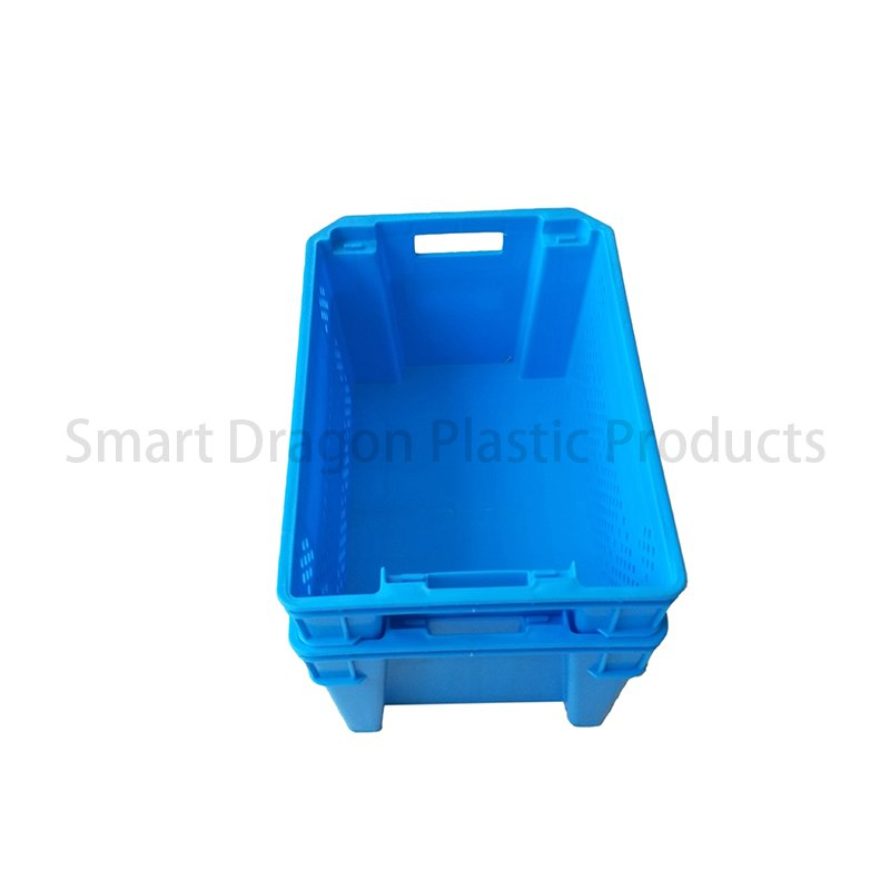 SMART DRAGON PP Plastic Storage Containers Easy To Stack Logistics Dislocation Box Plastic Turnover Boxes image111
