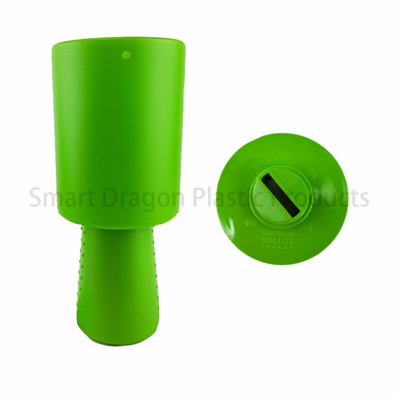 SMART DRAGON Green Plastic Charity Collection Boxes with New Rounded Hand Held Plastic Charity Boxes image114