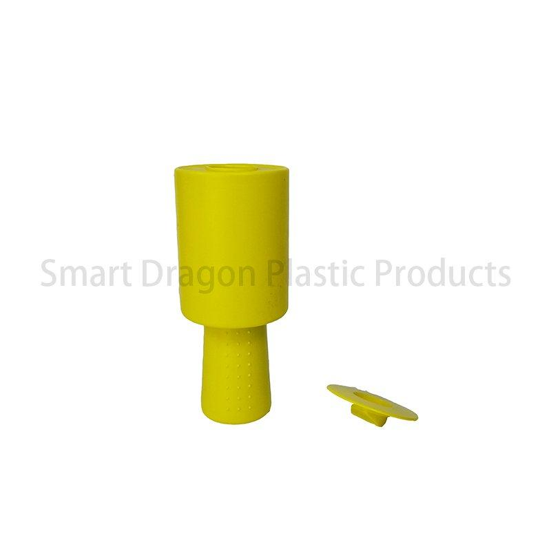 Yellow Plastic Charity Collection Donation Boxes with Hand Held
