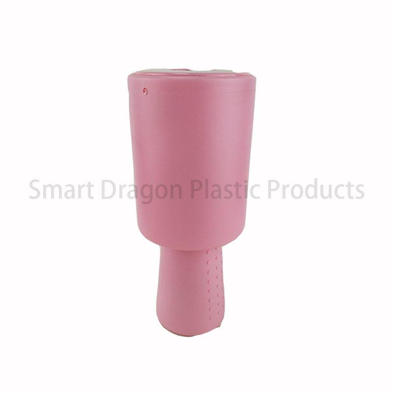 Pink Plastic Collection Charity Fundraising Boxes with Hand Held