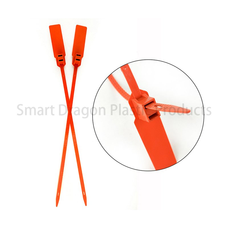 SMART DRAGON Pull Tight Plastic Security Self-Locking Barcode Seals Plastic Security Seal image108